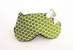 Bow Eye mask Sleep mask eye sleep mask Kitty eye by BowFantasy, $12.75