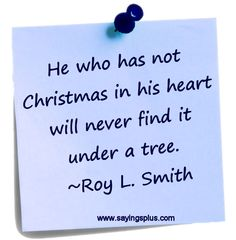 Great collection of Christmas sayings and quotes
