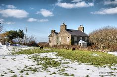 Another Manx Farmhouse – Jurby - More Isle of Man Images at www.manxscenes.com