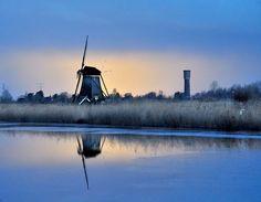 Mill in blue by Gerrit Groshart on 500px