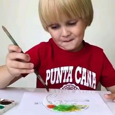 Fun Crafts For Kids, Baby Crafts, Toddler Crafts, Projects For Kids, Diy For Kids, Kindergarten Art, Preschool Crafts, Toddler Learning Activities, Kids Learning