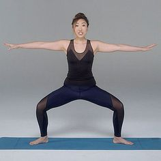 Do these thigh exercises from Cassey Ho for tighter and leaner thighs.
