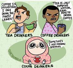 Cocoa drinker ✋