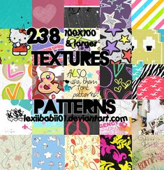 100 Free Patterns to Boost Your Creativity http://www.webdesign.org/miscellaneous/web-design-inspiration/100-free-patterns.22198.html