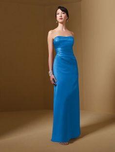 Marine Blue Bridesmaid dress (Alfred Angelo)