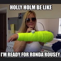 UFC 193 Holly Holm vs. Ronda Rousey