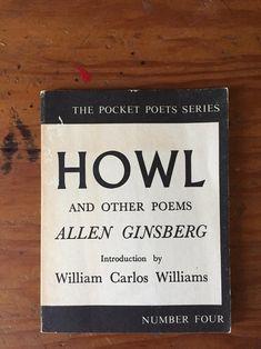 English Language Poem, Allen Ginsberg Howl, City Lights Bookstore, Lawrence Ferlinghetti, William Carlos Williams, Books On Tape, San Francisco City, Walt Whitman, Rory Gilmore