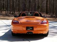 MY2008 Porsche Boxster S Orange