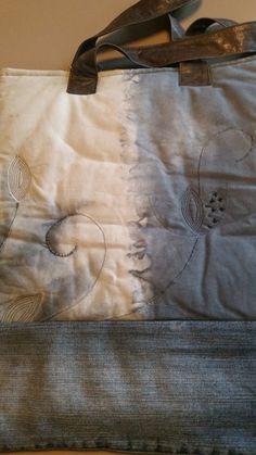 Blaue Tote :: Liz-sab-graz Paper Shopping Bag, Ted Baker, Tote Bag, Handmade, Bags, Graz, Handbags, Hand Made, Totes