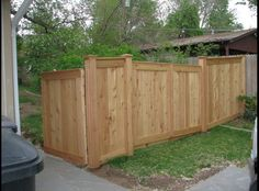 A typical fence of our customers. What a beauty.