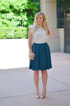 5 Easy Work Outfits to Try When You Hate Everything in Your Closet | http://www.hercampus.com/style/5-easy-work-outfits-try-when-you-hate-everything-your-closet
