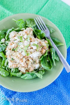 White Bean and Spinach Quinoa Salad