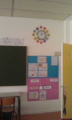 date - horloge - 100 jours de classe