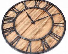 Unikátne-drevené-nástenné-hodiny. Clock, Wall, Home Decor, Watch, Decoration Home, Room Decor, Clocks, Walls, Home Interior Design