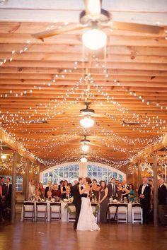LOVE the christmas lights... definetly having them at my wedding