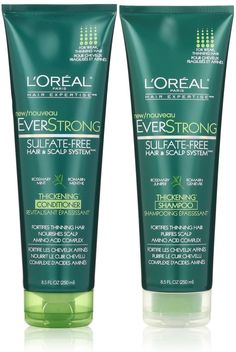 L'Oreal Paris EverStrong Thickening, DUO set Shampoo   Conditioner, 8.5 Ounce, 1 each >>> Check this useful article by going to the link at the image. #hairideas