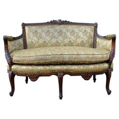 Check out this item at One Kings Lane! 1920s French Settee