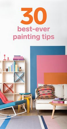 How to paint: our 30 best paint tips ever || From colour to tools and technique, we give you our best ways to take the guesswork out of putting paintbrush to wall.