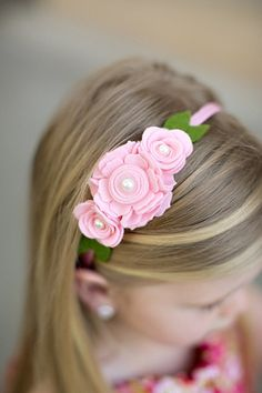 rosa diadema de fieltro fieltro diadema rosa lana fieltro flor diadema para nias diadema de pascua fotos prop