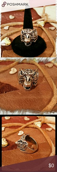 Stainless Steel Punk Ring Stainless Steel Punk Ring.                                   Material: Stainless Steel . . .    18B Jewelry Rings