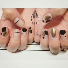 Pin on Nail Designs Pin on Nail Designs Asian Nail Art, Asian Nails, Fabulous Nails, Perfect Nails, Hot Nails, Hair And Nails, Japan Nail, Acryl Nails, Minimalist Nails