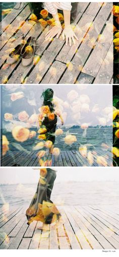 Double exposure on a Diana camera. I have one of these but mine never turn out this amazing.