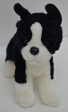 "Douglas Boston Terrier Dog Plush Puppy Black & White Standing Stuffed Animal 9"" #Douglas http://stores.ebay.com/Lost-Loves-Toy-Chest/_i.html?image2.x=30&image2.y=8&_nkw=douglas+boston"