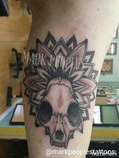 by Mark Peoples done at Gypsy Rose Tattoos