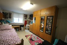 Residence hall room in Jerde