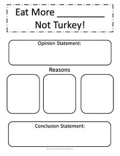 Let's Talk Turkey!- writing activities for November$- common core aligned