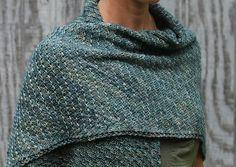 Ravelry: Lizard Skin Shawl pattern by Laura Reinbach