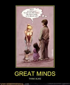 Very Demotivational - page 54 Cartoon Jokes, Funny Cartoons, Funny Jokes, Playboy Cartoons, Funny Day Quotes, How To Be Seductive, Marriage Jokes, Very Demotivational, Great Minds Think Alike