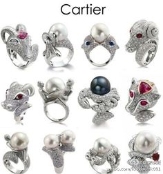 Cartier Constellations Rings | The House of Beccaria#