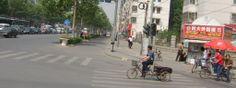 文化路与东风路交叉口  Wenhua Road at Dongfeng Road crossroad
