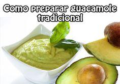 Como preparar guacamole tradicional