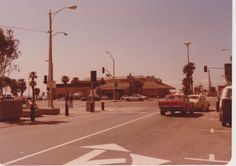 PCH and Main,  Huntington Beach, 1980s.  Seems like it was yesterday.