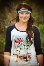 Life is Better in the Country Graphic Tee for Women