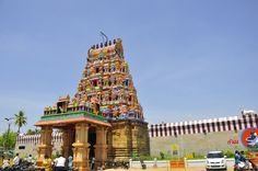 Perur Pattiswarar Temple, a well maintained vibrational architecture situated 15km from Coimbatore City
