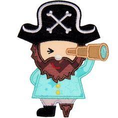 Pirate Applique - Planet Applique Inc
