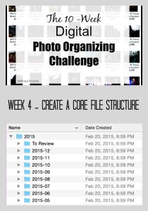 Organizing your digital photos by creating a core file structure @ refinedroomsllc.com