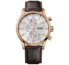 Hugo Boss Rose Gold Chronograph Men's Watch
