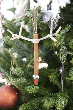 easy handmade ornaments for kids - the handmade home