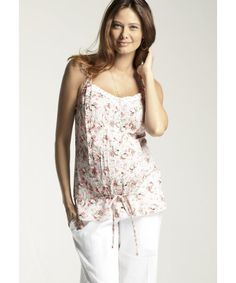 77915ec0798 Floral Cotton Maternity Top from Mothercare. Beautiful and now with an  extra 20% off