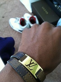 Louis Vuitton men's bracelet