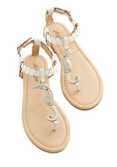 OMG I NEED THESE ---  Hold Your Seahorses Sandal by Lucky