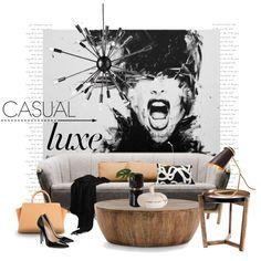 David Scholes art... by gloriettequartet on Polyvore featuring interior, interiors, interior design, home, home decor, interior decorating, Arteriors, Shiraleah, area and Dot & Bo