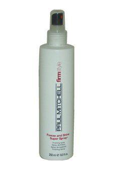 Freeze & Shine Super Spray by Paul Mitchell for Unisex - 8.5 oz Hair Spray