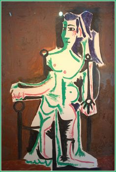 Picasso Pablo - Femme assise | Flickr - Photo Sharing!