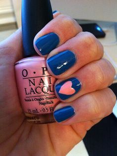 OPI Nail Heart- so cute and simple!