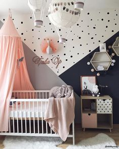 Children& bedrooms: children& furniture and furnishings for sale online WestwingNow - Every child& dream 💘 A bedroom decorated with love and many personalized accessories. Baby Nursery Decor, Baby Bedroom, Baby Boy Rooms, Baby Decor, Nursery Room, Room Decor Bedroom, Girls Bedroom, Nursery Inspiration, Bedroom Colors